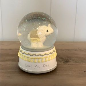 Precious Moments Snow Globe Brahms Lullaby